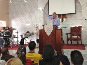 Encouraging the church in Sancti Spiritus