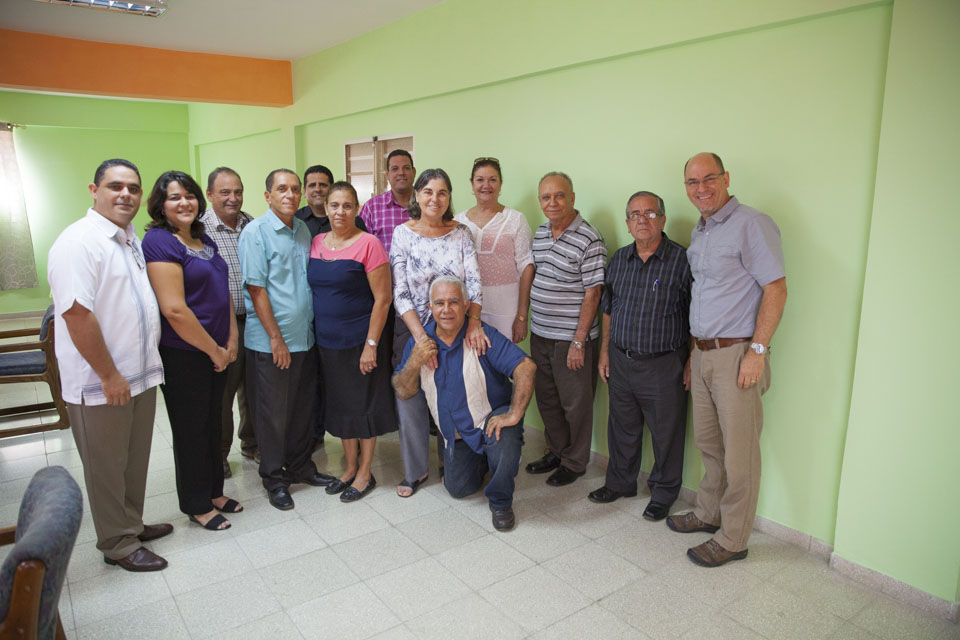 Meeting with Cuban church leaders to plan Bible shipments to Cuba